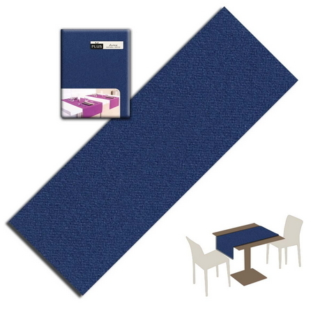 Tovaglietta Runner You & Me 120x48 Airlaid Packservice Plus Unicolor Blue 200 Pezzi