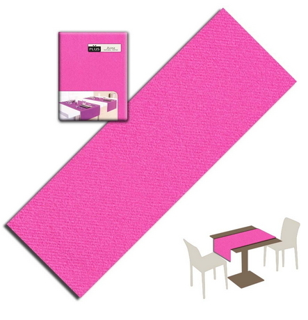 Tovaglietta Runner You & Me 120x48 Airlaid Packservice Plus Unicolor Fuxia 200 Pezzi