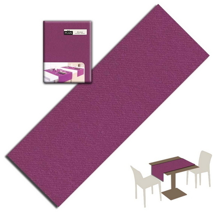 Tovaglietta Runner You & Me 120x48 Airlaid Packservice Plus Unicolor Viola 200 Pezzi