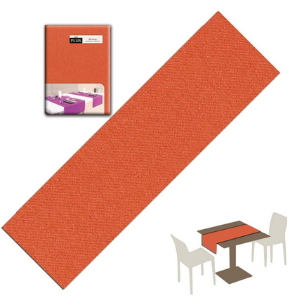 Tovaglietta Runner You & Me 120x48 Airlaid Packservice Plus Unicolor Terracotta 200 Pezzi