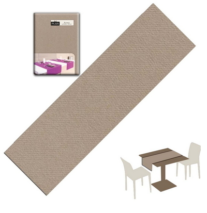 Tovaglietta Runner You & Me 120x48 Airlaid Packservice Plus Unicolor Creta 200 Pezzi