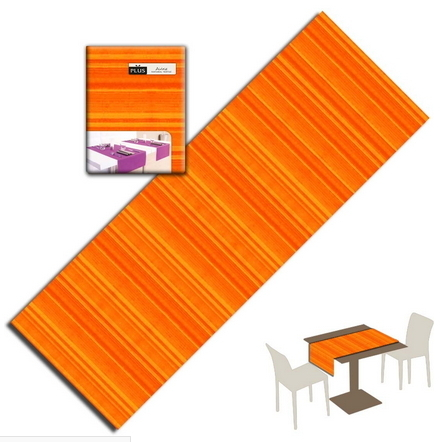 Tovaglietta Runner You & Me 120x48 Airlaid Packservice Plus Soul Arancio 200 Pezzi