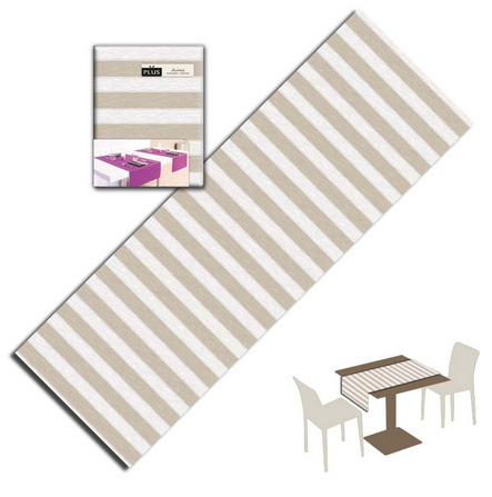 Tovaglietta Runner You & Me 120x48 Airlaid Packservice Plus Band Sabbia 200 Pezzi
