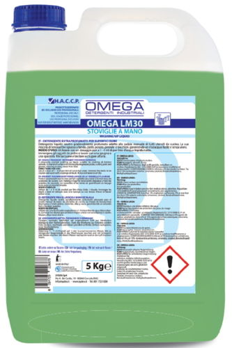 Detergente Stoviglie a Mano Sydex Omega LM30 5kg x 4 Pezzi